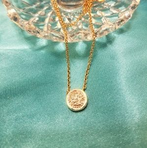 Jewelry - Suspended Circle Necklace